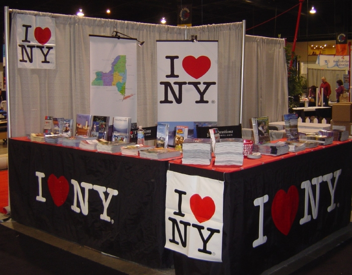 Is your travel literature here? Lure visitors at the NYSTIA shows booth!