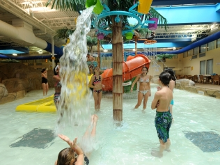 Palm Island Indoor Water Park Package