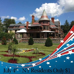 Sonnenberg's July 4th Admission Special